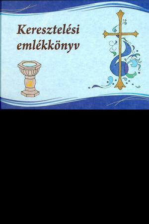 Keresztelési emlékkönyv - Patyi Beáta