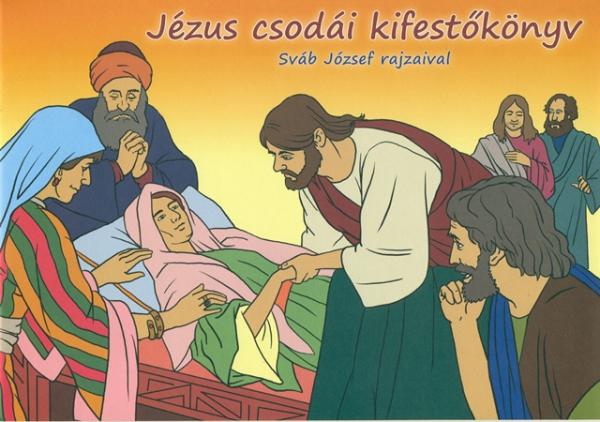 Jézus csodái kifestőkönyv-0