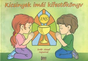 Kicsinyek imái kifestőkönyv-0