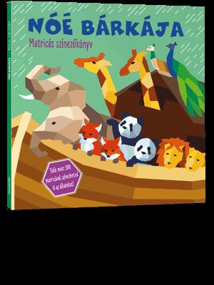 Noé bárkája - Matricás színezőkönyv