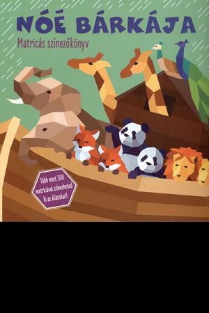Noé bárkája – matricás színezőkönyv