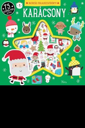 Karácsony - matricás foglalkoztatókönyv