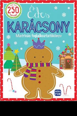 Édes karácsony - matricás foglalkoztatókönyv