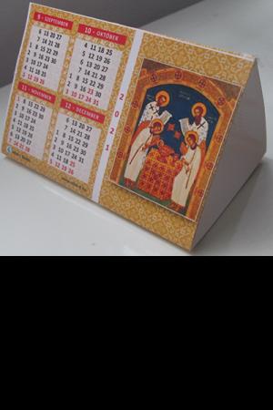 Ikon-naptár (hasáb) 2021