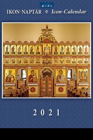 Ikon-naptár 2021 (mini)