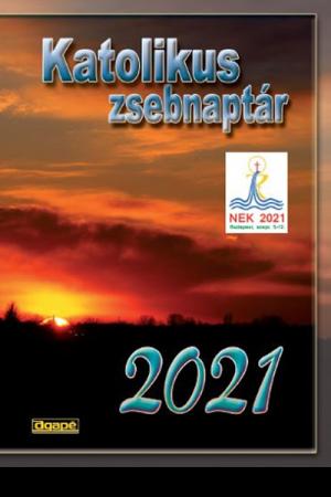 Katolikus zsebnaptár 2021 (Agapé)