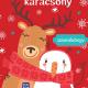 Tarkabarka karácsony - színezőkönyv