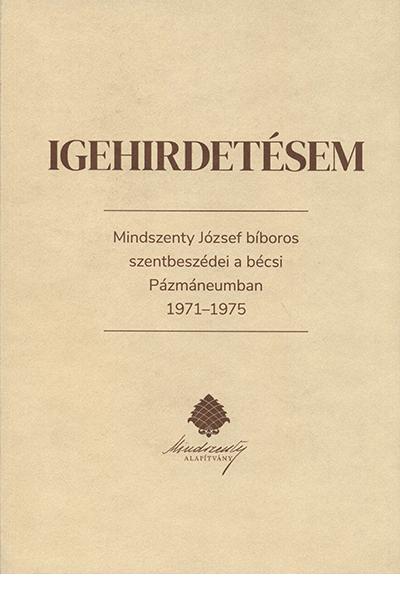 Igehirdetésem - Soós Viktor Attila (szerk.)