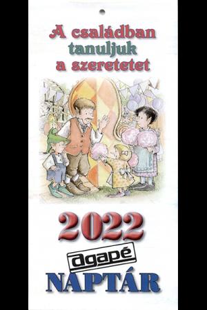 Gyereknaptár 2022 (Agapé)