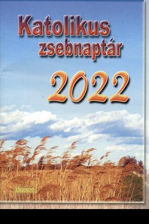 Katolikus zsebnaptár 2022 (Agapé)